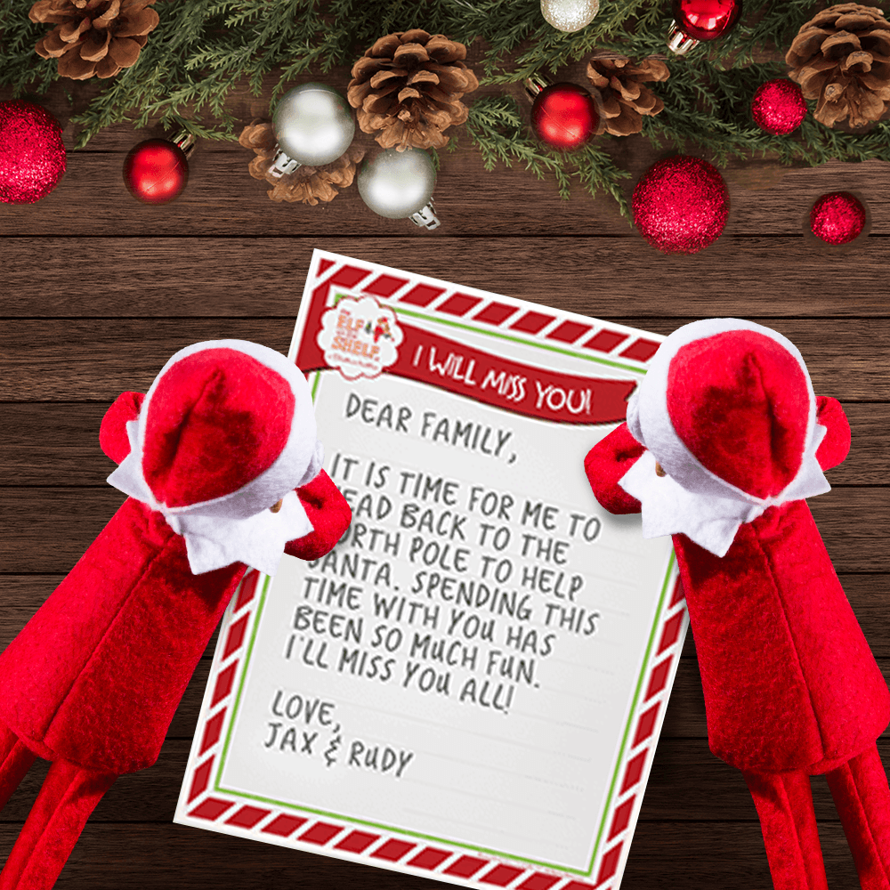 Download A Free Printable Letter From Your Elf The Elf On The Shelf