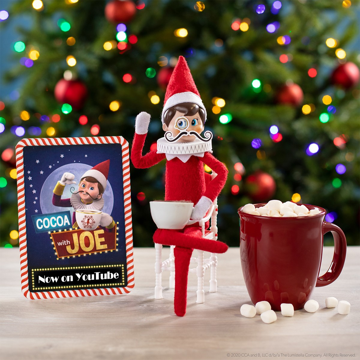 The Star of the Show...Elf Joe! image