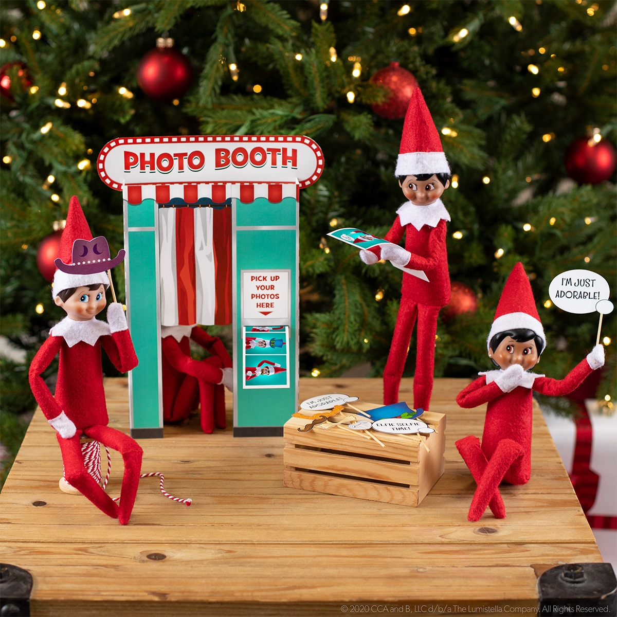 Elf on the Shelf Photo Booth image