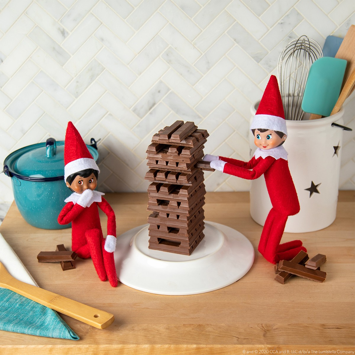 Chocolate Jumbling Tower image