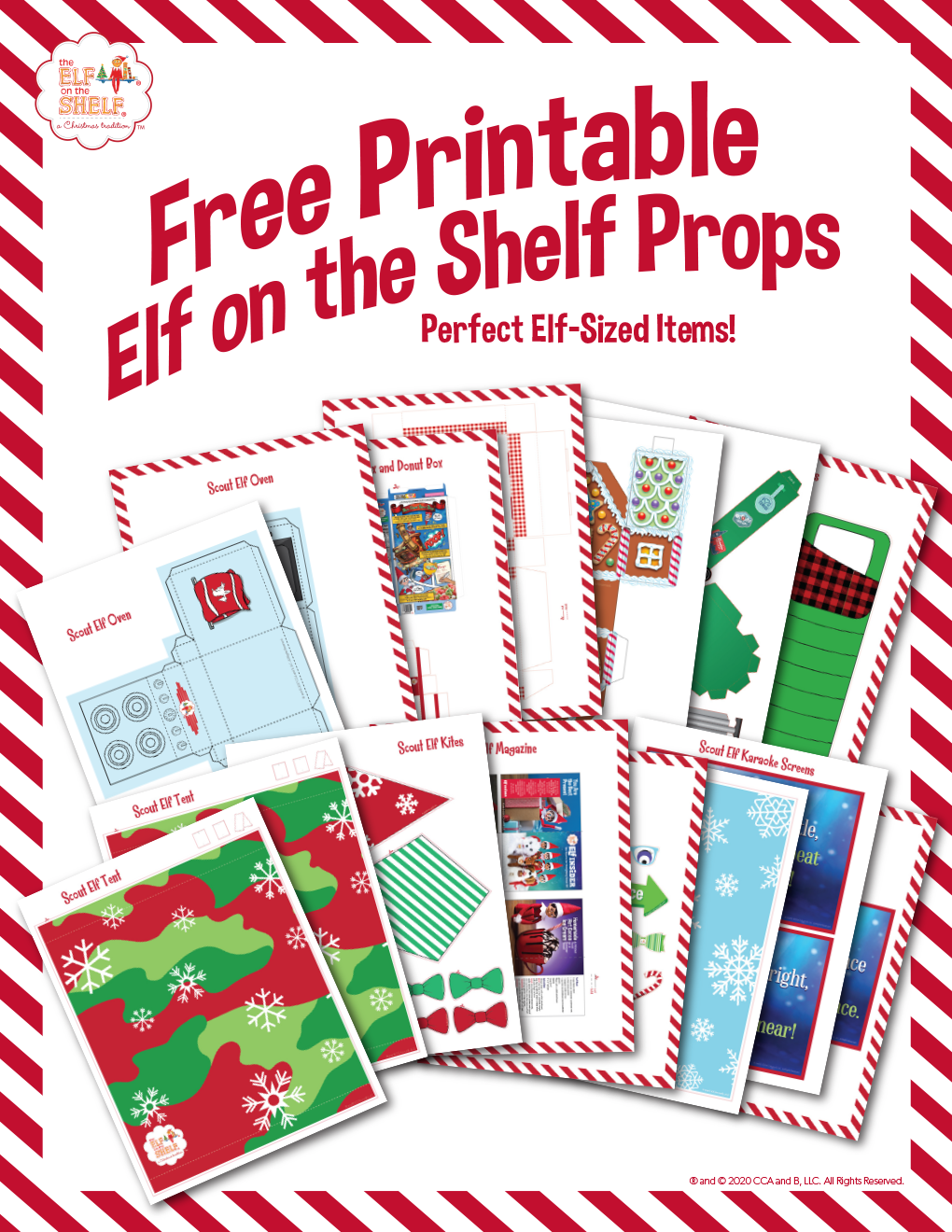 Elf Sized Printables
