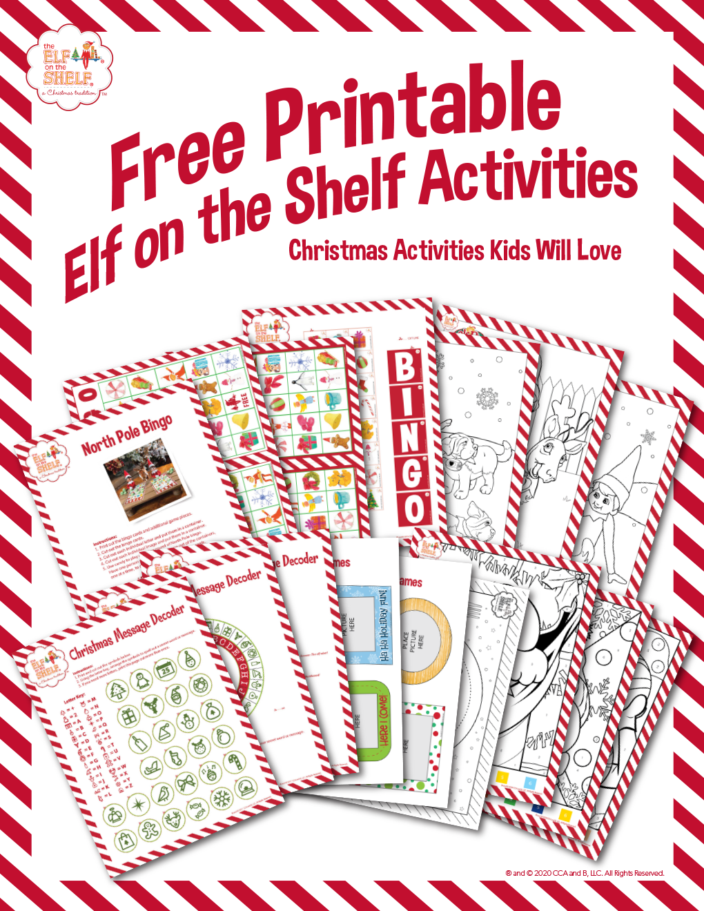 Printable Elf Activites