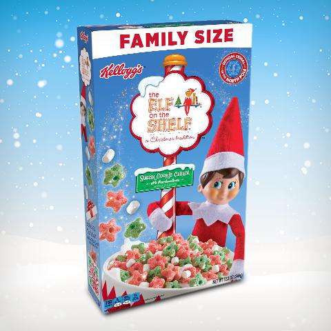 Kellogg's Sugar Cookie Cereal Box