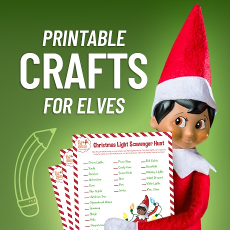 Printable Crafts for Elves