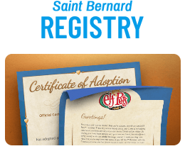 Elf Pets Saint Bernard Registry