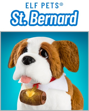 Elf Pets®: A Saint Bernard Tradition