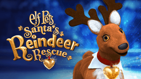 Elf Pets: Santa's Reindeer Rescue Banner