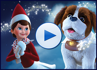Elf Pets Santas St Bernards Save Christmas Trailer