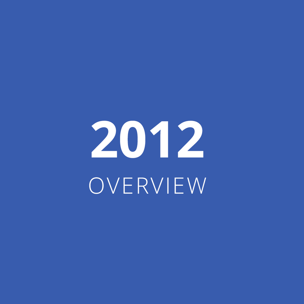 2012 Overview